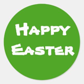 Pascua feliz pegatinas