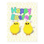 ¡Pascua feliz!!!  ¡PÍO DEL PÍO DEL PÍO! Tarjeta Postal