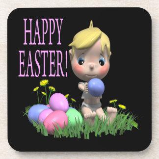 Pascua feliz posavasos