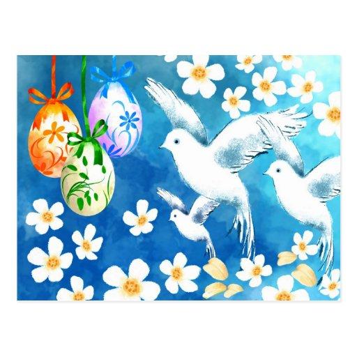 Pascua feliz. Postales adaptables de Pascua