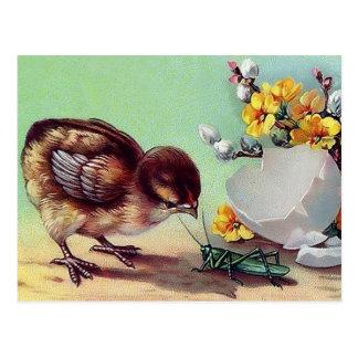Pascua feliz. Postales de Pascua del diseño del vi