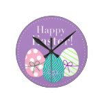 Pascua feliz reloj