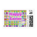Pascua feliz sellos