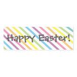 ¡Pascua feliz!   Señal Plantilla De Tarjeta De Negocio