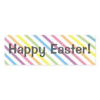 ¡Pascua feliz!   Señal Plantillas De Tarjetas De Visita