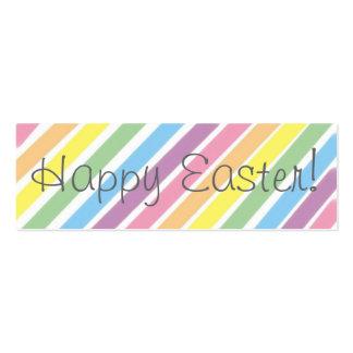 ¡Pascua feliz!   Señal Tarjetas De Visita