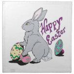 Pascua feliz servilletas