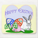 Pascua feliz tapete de ratón