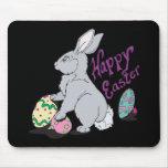 Pascua feliz tapetes de ratón