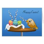 ¡Pascua feliz! Tarjeta