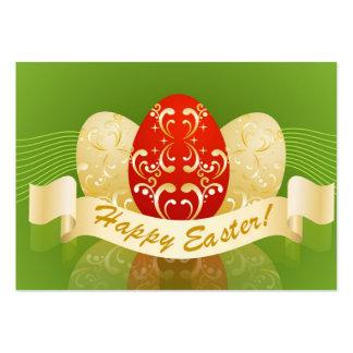 Pascua feliz plantilla de tarjeta personal