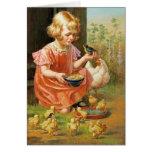 Pascua feliz. Tarjeta adaptable de la bella arte