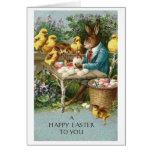 ¡Pascua feliz!  Tarjeta de felicitación de Pascua