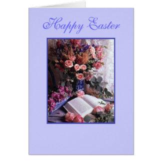 Pascua feliz tarjeta pequeña