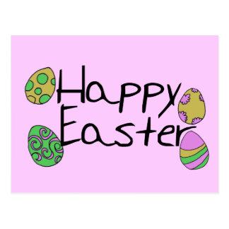 Pascua feliz tarjetas postales