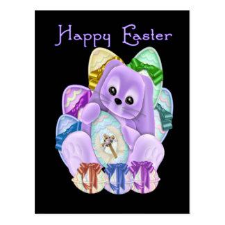 Pascua feliz tarjeta postal