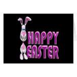 Pascua feliz tarjetón