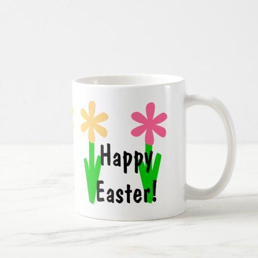 ¡Pascua feliz! Tazas De Café