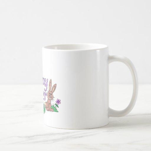 Pascua feliz tazas de café