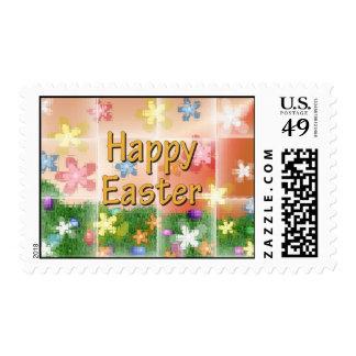 Pascua feliz timbres postales