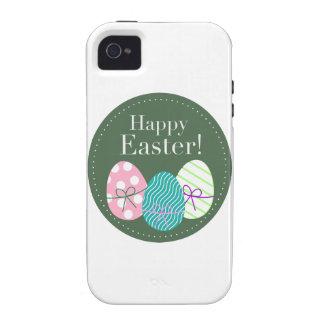 Pascua feliz vibe iPhone 4 funda