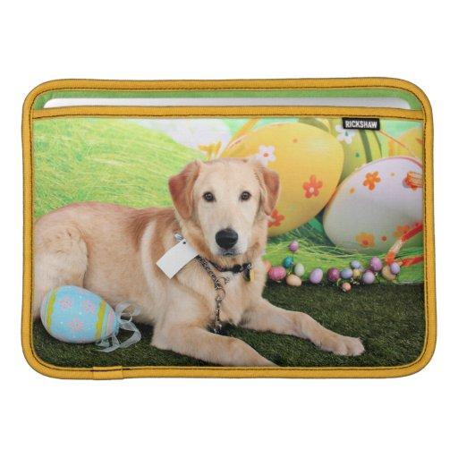 Pascua - golden retriever - Augie Funda Para Macbook Air