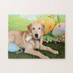Pascua - golden retriever - Augie Puzzle Con Fotos