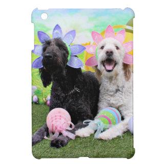 Pascua - GoldenDoodles - Sadie e Izzie iPad Mini Protectores