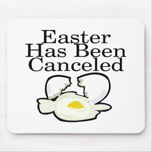 Pascua ha estado cancelada mouse pads