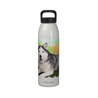 Pascua - husky siberiano - Luka Botella De Agua