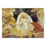 Pascua/iglesia de Chora del fresco de Anastasis de