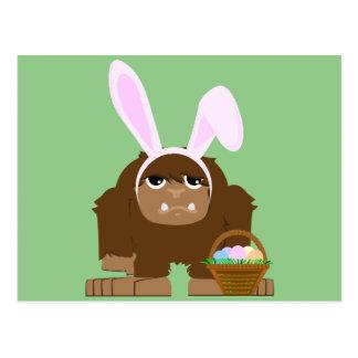 Pascua linda Bigfoot Postales