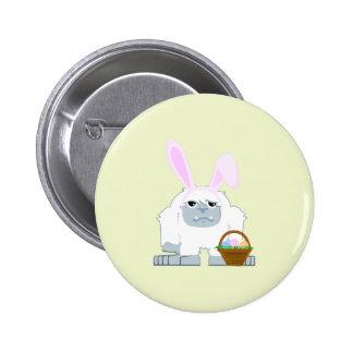 Pascua linda Yeti Pin Redondo 5 Cm