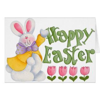 Pascua llenada diversión - tarjeta de felicitación