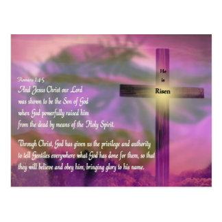 Pascua - lo suben - religiosa postal