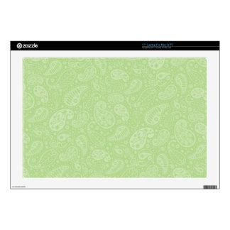 Pascua Paisley retra verde Portátil 43,2cm Skin