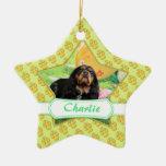 Pascua - perro de aguas de rey Charles arrogante - Ornamentos De Navidad