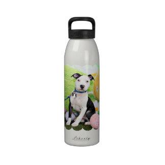 Pascua - Pitbull - artillero Botella De Agua