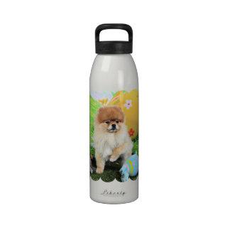 Pascua - Pomeranian - Dexter Botellas De Agua Reutilizables