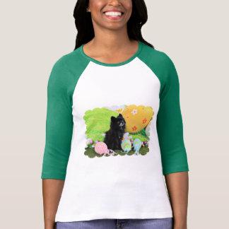Pascua - Pomeranian - oso Camiseta