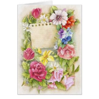 Pascua, primavera tarjeta de felicitación