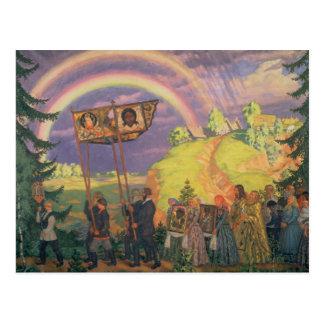 Pascua Procession, 1915 Postales