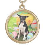 Pascua - rata Terrier - Georgia Colgante Redondo