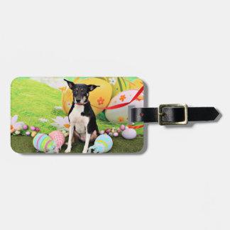 Pascua - rata Terrier - Georgia Etiqueta De Equipaje
