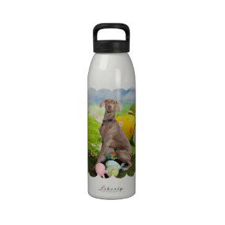 Pascua - Weimaraner - Nevaeh Botella De Agua