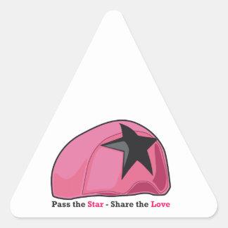 Pase la parte de la estrella el amor colcomanias de triangulo