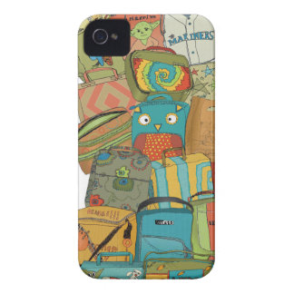 Paseo 2015 del arte Case-Mate iPhone 4 protector