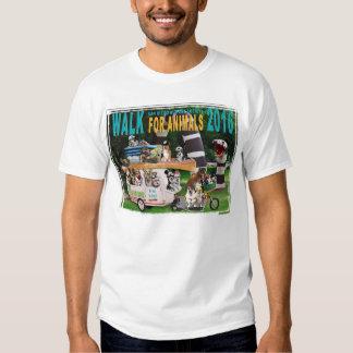Paseo 2016 para la camiseta de los hombres de remeras