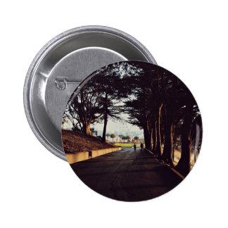 Paseo abajo del camino pin redondo 5 cm