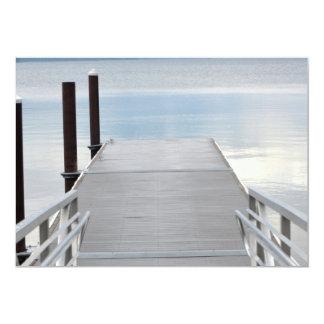Paseo al lago invitación 12,7 x 17,8 cm
